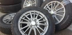 Фирменные литые диски Weds Ravrion на шинах GoodYear 165/70R14