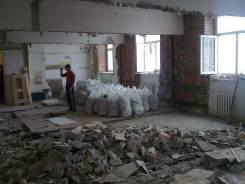 Демонтажные работы в Помещениях, Квартирах, Разбор строений, Вывоз мусора