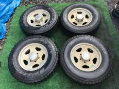 Комплект колес Bridgestone Dueler A/T 215/80/R15 + Литье 6х139.7