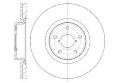 Диск тормозной передний вентилируемый G-Brake 5X114.3
