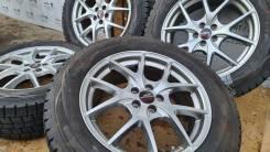 Фирменные литые диски A-Tech на шинах Dunlop 225/60R17