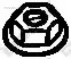Гайка выпускного коллектора Bosal '258047