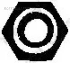 Гайка выпускного коллектора Bosal '258056