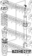 Пыльник амортизатора | перед прав/лев | Febest 'Bzshb211F