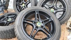 Фирменные литые диски BMW Racing Dynamic на шинах Dunlop 225/50R17