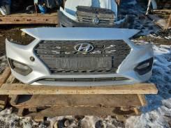 Бампер Hyundai Solaris 17-19г, передний