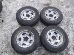 Колесо Комплект Колес В Сборе Bridgestone Blizzak 195/80R15