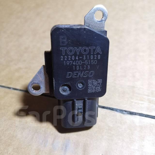 Датчик расхода воздуха оригинал с распила Toyota 22204-31020 22204-31020