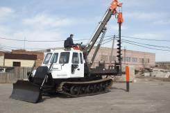 Алтайлесмаш СЭМ-4. Бурильно-крановая машина СЭМ-4 для строительства и ремонта ЛЭП, 11 762куб. см., 4 500кг. Под заказ