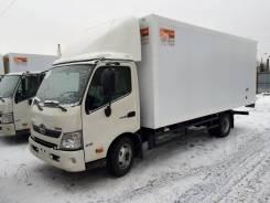 Hino 300. Изотермический фургон из сэндвич-панелей на шасси HINO 300(730), 4 009куб. см., 5 270кг., 4x2. Под заказ