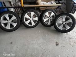 Оргинальный комплект колес на шевроле круз шины 215/55R17 торг