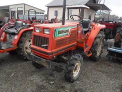 Hinomoto. Трактор 20 лс, 3 цилиндра, 4 wd, ГУР, фреза, 20,00л.с.