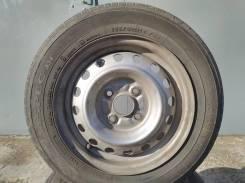 Продам комплект летних колес на штамповке 145/80/13.