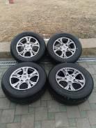 285/60R18 Bridgestone, диски Dizzard 5x150 в Арсеньеве