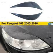 Накладка на фару. Peugeot 407, 6C, 6D, 6E DT17TED4, DT20C, DV6TED4, DW10BTED4, DW10CTED4, DW12BTED4, ES9, ES9A, EW10A, EW12A, EW12J4, EW7A