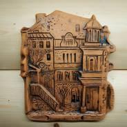 Барельеф Владивосток керамика