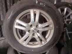 Резина 195/65R15 зима Dunlop 80% + литье 5x100 6J ET45 ЦО 66мм
