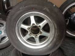 Резина 195/80R15 зима Dunlop 90% + литье 6x139,7 6,5JJ ET25