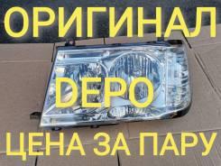 Фары DEPO (L+R) для Toyota LAND Cruiser 100 (LC100)