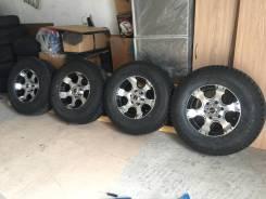 Продается новый зимний комплект колес на внедорожник 265*70*16