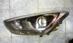 Фара левая Hyundai Santa Fe DM галоген