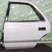 Дверь боковая Toyota Cresta X8# задняя левая