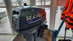 Sea-Pro. 15,00л.с., 2-тактный, бензиновый, нога S (381 мм), 2013 год. Под заказ