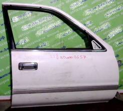 Дверь боковая Toyota Cresta X8# передняя правая