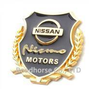 Наклейка. Nissan: Cherry, AD, Caravan Elgrand, Cube, Cube Cubic, Dualis, Elgrand, Homy Elgrand, Juke, Leaf, March, Murano, Note, NV200, Serena, Skylin...