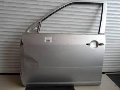 Дверь Toyota Probox левая серая перед голая 15