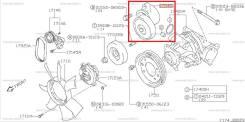 Ролик натяжной Suzuki Escudo TL52W J20A 60.000км. Отправка в регионы! 17540-77E10
