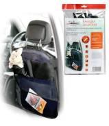 Накидка защитная на спинку переднего сидения (65*50 см), прозрачная, с карманами