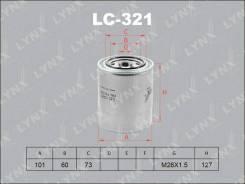 Фильтр масляный LYNXauto LC321 LC321