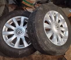 Комплект летних колес 205/65 R16 с распила Nissan Teana