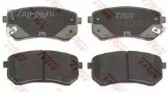 Колодки тормозные дисковые зад TRW GDB3370 GDB3370