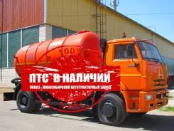 Коммаш КО-505Б1. Вакуумная машина КО-505Б1 на шасси Камаз 53605 в наличии, 6 700куб. см.