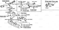 Система подачи воздуха в двигатель литайс 1985-1996 гг (M-. Rсерии)