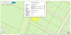 Участок в коттеджном посёлке Красное поле. Свет, ГАЗ, Асфальт. 607кв.м., собственность, электричество