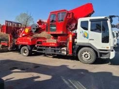 Hansin HS 4570. Автовышка Hansin 45 метров 2012 модельного года, 5 880куб. см., 45,00м. Под заказ
