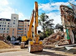 Снос/демонтаж капитальных построек/частных домов, прочих конструкций.
