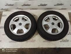 Пара колес R15 6JJ +48 Dunlop WinterMaxx VM01 195/65R15 5x100 5x114