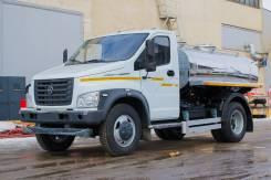 ГАЗ ГАЗон Next C41R13. Автоцистерна пищевая молоковоз/водовоз на шасси ГАЗон NEXT, 4 430куб. см., 4 200кг. Под заказ