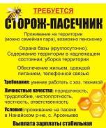 Сторож-пчеловод. Нанайский район с.Арсеньево