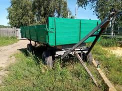 Калачинский 2ПТС-4. Прадам тракторную самосвальную телегу, валит на три стороны состояние, 4 500кг.