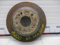 Диск тормозной задний Kia Sorento 2 (XM) 584112P000