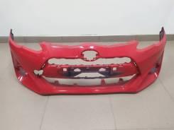 Бампер Toyota Aqua (P10) 2014-2017г. Оригинал Б/У Цвет: Красный