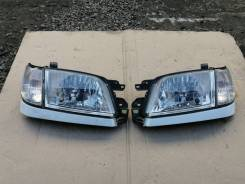 Комплект фар + габариты на Subaru Forester SF5, SF9 рестайлинг