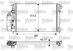 Радиатор охлаждения двигателя Valeo 733075