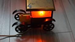 Ночник из СССР ретро машинка автомобиль. лампа светильник