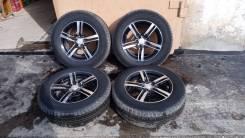 Продам комплект колес с летней резиной на литых дисках